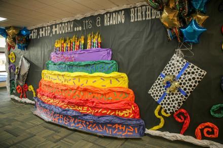 Birthday Cake Wall