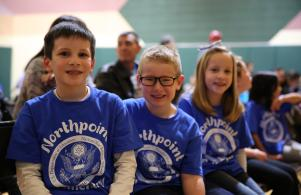 Northpoint Blue Ribbon School Community Celebration, Dec. 7, 2016