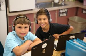 P-H-M schools are 1:1 Technology for all 10,800 students in the District!